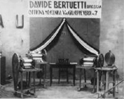 Bertuetti – da origem das modeladoras às linhas automáticas!