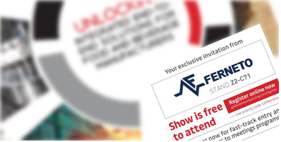 DUBAI, Feira Gulfood Manufacturing: Convite Ferneto